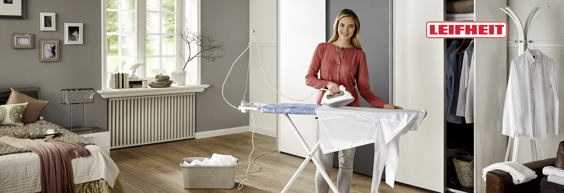 Leifheit Ironing Boards : Maximum ironing comfort for perfect laundry Ironing Tables ,  Ironing board covers, Laundry Organisers