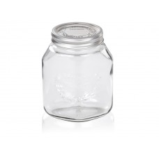 Leifheit Preserve Jar, 1 Litre, Set of 6, Transparent