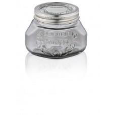 Leifheit Preserve Jar 500 ml Smokey Grey, Set of 6