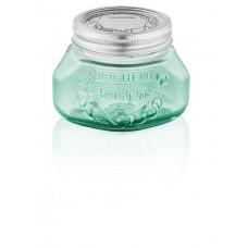 Leifheit Preserve jar 500 ml, Jungle green, Set of 6