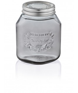 Leifheit Preserving Jar 1.0 Litres, Smok..