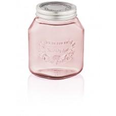 Leifheit Preserving Jar, 1 litre, Tender Rose