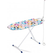 Leifheit Classic Solid Plus Metal Ironing Board, White
