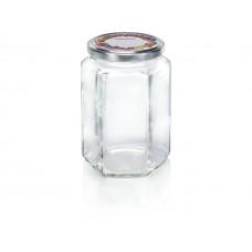 Leifheit Hexagonal jar 770 ml. Set of 6 ..