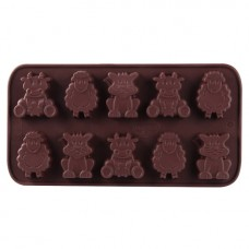 "Dr. Oetker Silicone chocolate mould ""Lit.."
