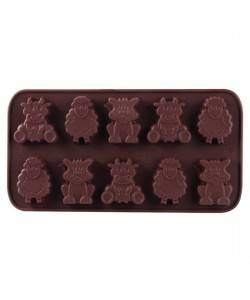 "Dr. Oetker Silicone chocolate mould ""Little form"", 10 pcs."
