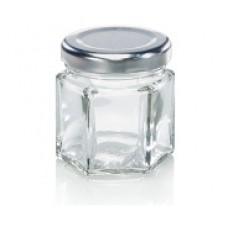 Leifheit Hexagonal jar 47 ml set of 6