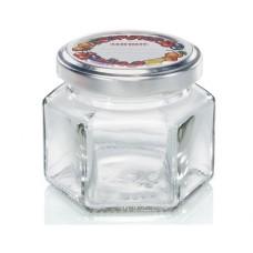 Leifheit Hexagonal Jar 106 ml set of 6