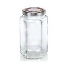 Leifheit Hexagonal Jar 1,700 ml set of 4..