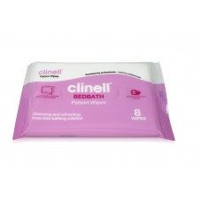 Clinell Bedbath wipes 8