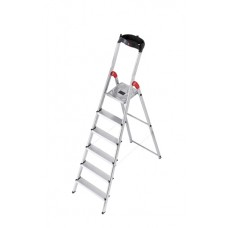 Hailo Safety-household stepladder 6 step