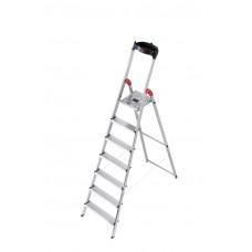 Hailo Safety-household stepladder profistep.8 step