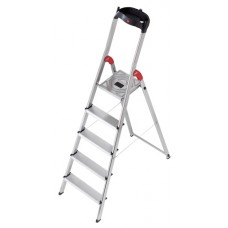 Hailo Safety-household stepladder profistep 5 step