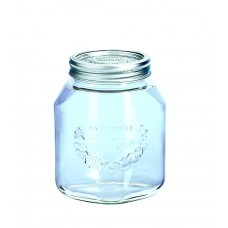 Leifheit Preserve Jar, 1 Litre, Set of 6..