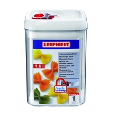 Leifheit Fresh & Easy Storage square design 1.2 L