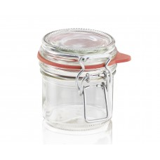 Leifheit Clip top jar 135 ml.  Set of 6 ..
