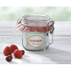 Leifheit Clip top jar 255 ml. Set of  6 ..