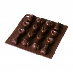 """Silicon  chocolate mould  """"Sweet Spring"""""""
