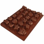 """Dr.Oetker Silicon Chocolate mould """"24 Treats"""""""