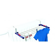 Leifheit Quartet Drying Rack,(56.01 cm x 24.99 cm x 3 cm) Multicolour