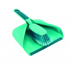 Leifheit Dust Pan Set, Green