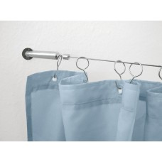 Rope system Chrome Shower curtain